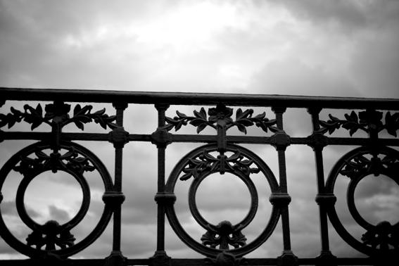 Fotografía de autor en Donostia Barandilla de la Concha